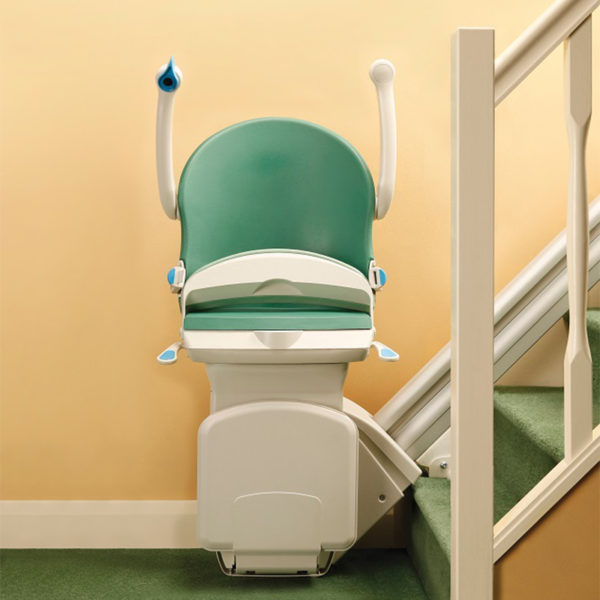 1000 stair lift folded up handicare 600x600