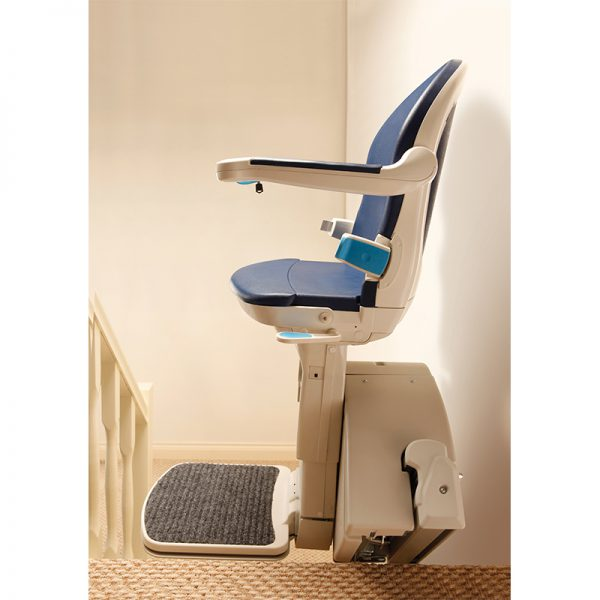 1000 stair lift side view handicare