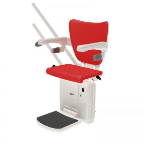 2000 stair lift style seat cherry red handicare