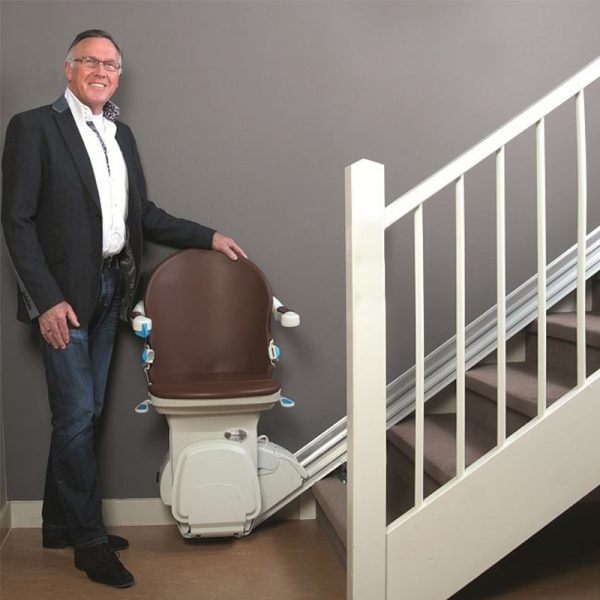 950 plus stairlift smart seat cocoa installed handicare 600x600