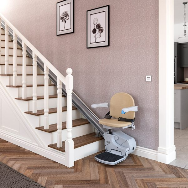 950 stairlift installed handicare