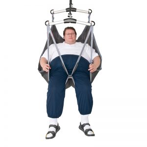 bari sling in use front view handicare 1