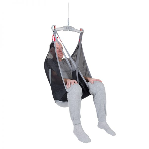basic sling polyester net front view handicare