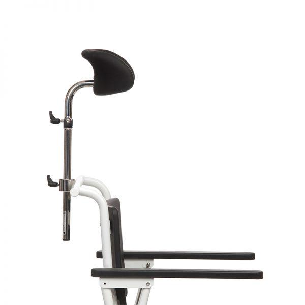combi commode shower chair headrest handicare 2