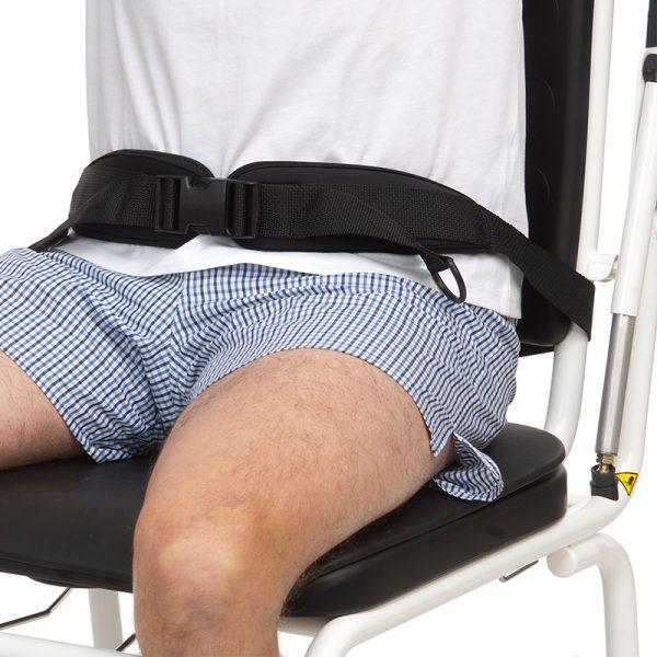 combi commode shower chair hip belt handicare