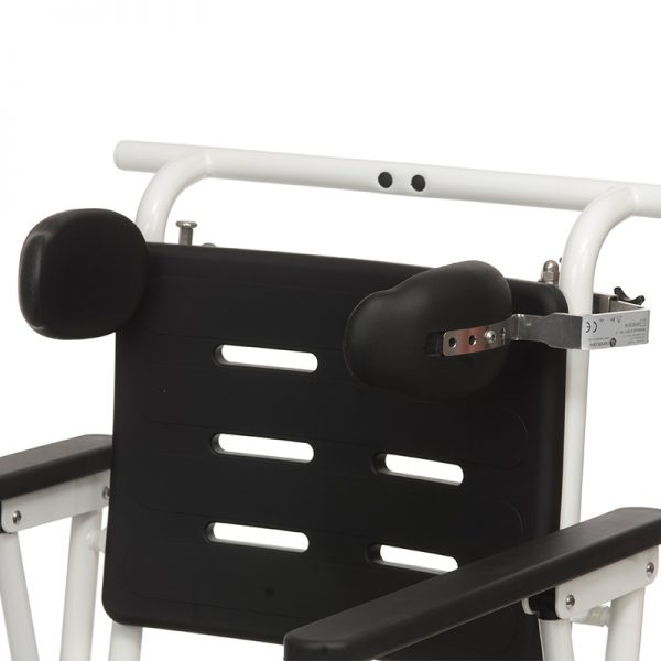combi commode shower chair lateral trunk support handicare