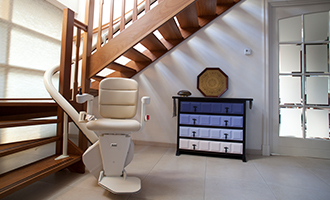 curved stairlift freecurve 1