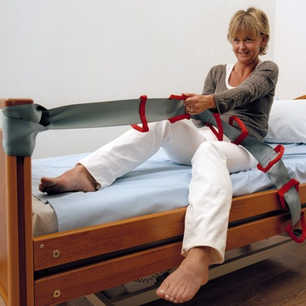 flexi grip in use bed handicare 600x600