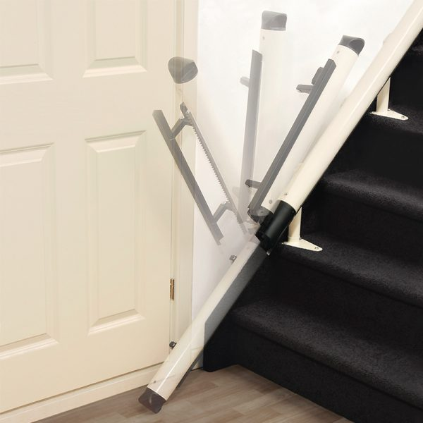 freecurve stair lift powered hinge handicare