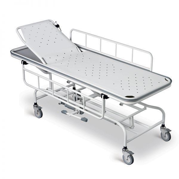 height adjustable shower trolley handicare 2