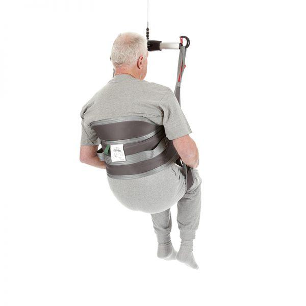 hygien sling back view handicare