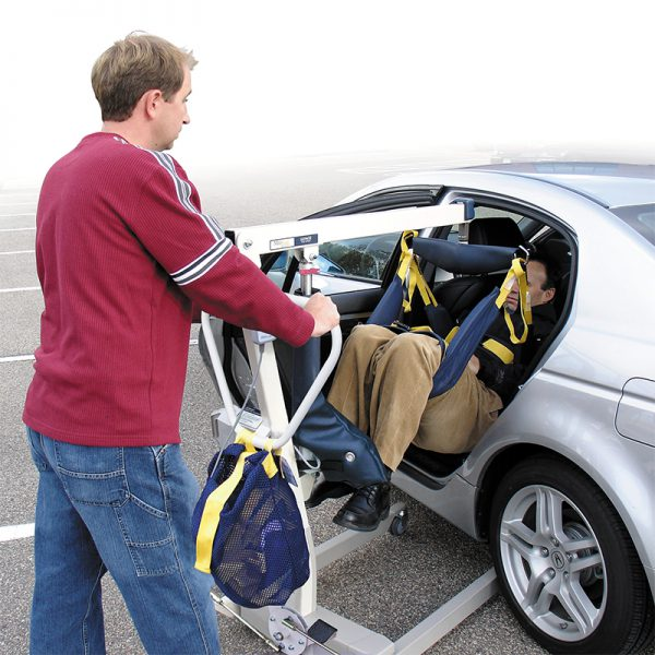 medcare car extractor in use handicare
