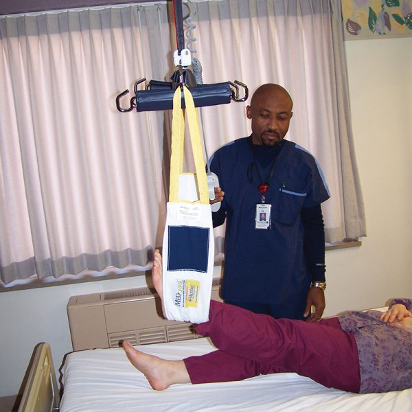medcare limb sling in use handicare