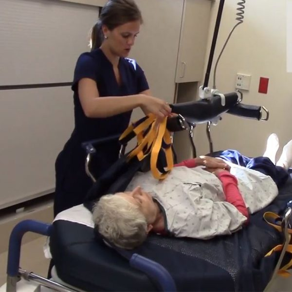 medcare repositioning sling turning video handicare