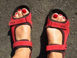 proper foot wear