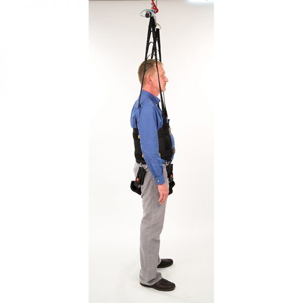 rehab walking sling side view handicare