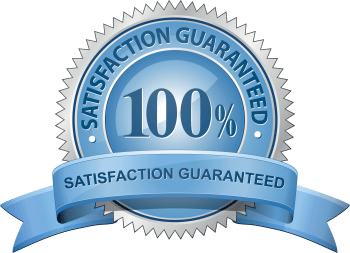 100% Satisfaction Guaranteed