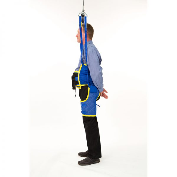 standing support sling side view handicare