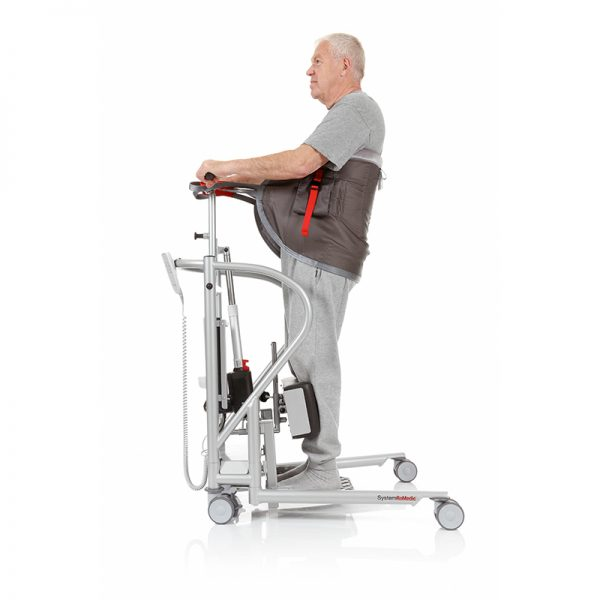 thorax sling seat support video handicare