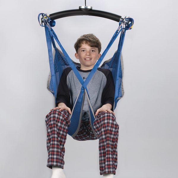 universal sling mesh front view handicare