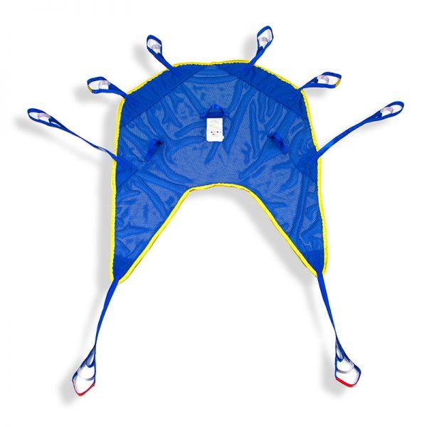 universal sling mesh poly flat view handicare