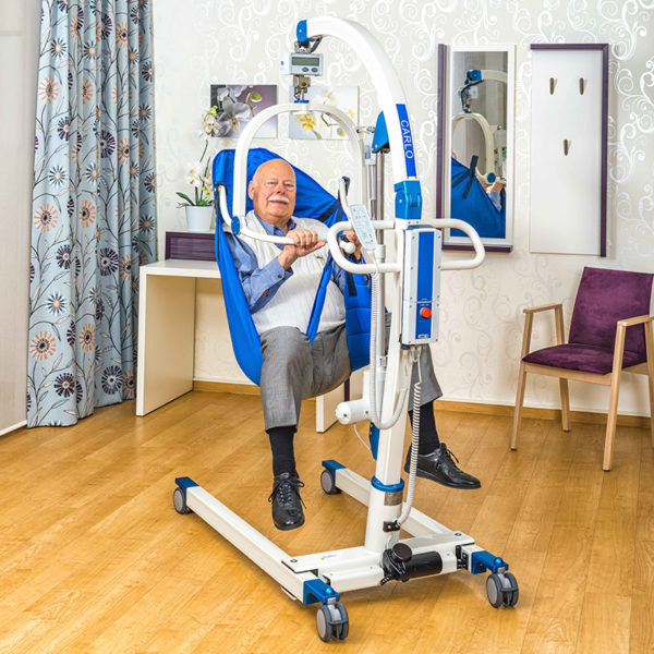 beka carlo comfort alu ep 230 floor lift with patient 2 600x600