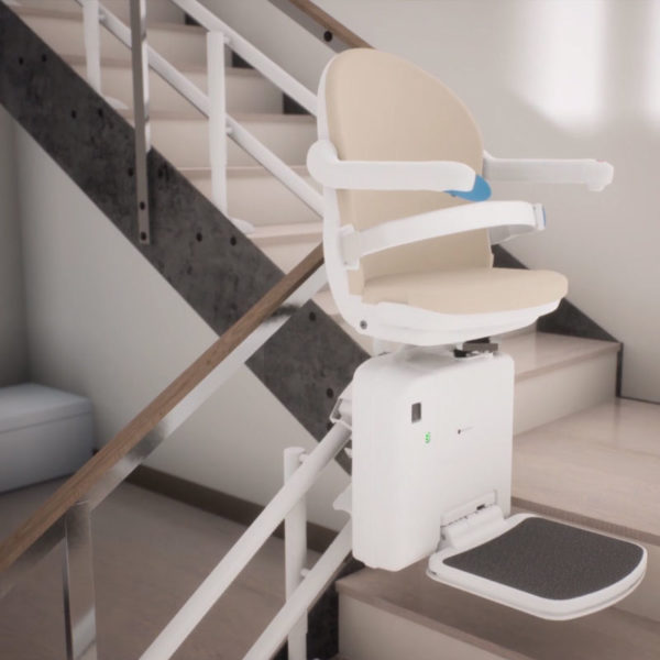 2000 curved stairlift video