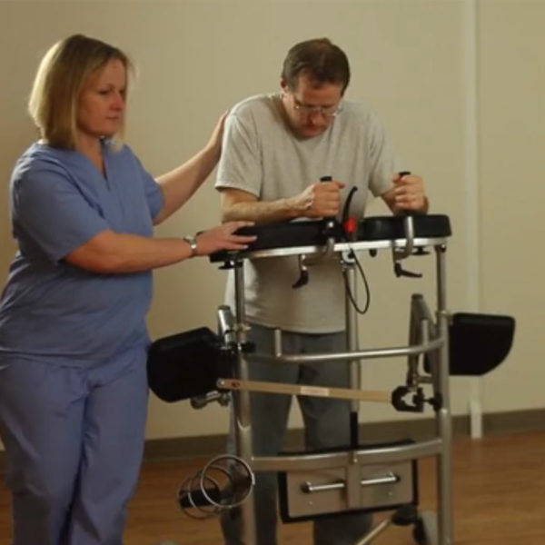 patient safe lift training rowalker video